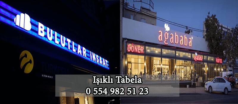 Ataşehir Işıklı Tabela